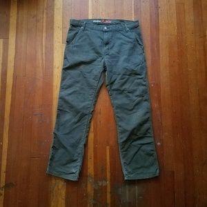 Green carpenter pants dickies